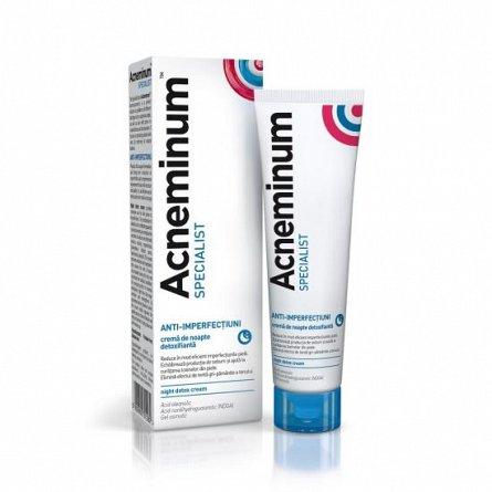 Acneminum Specialist crema de noapte detoxifianta, 30ml [0]