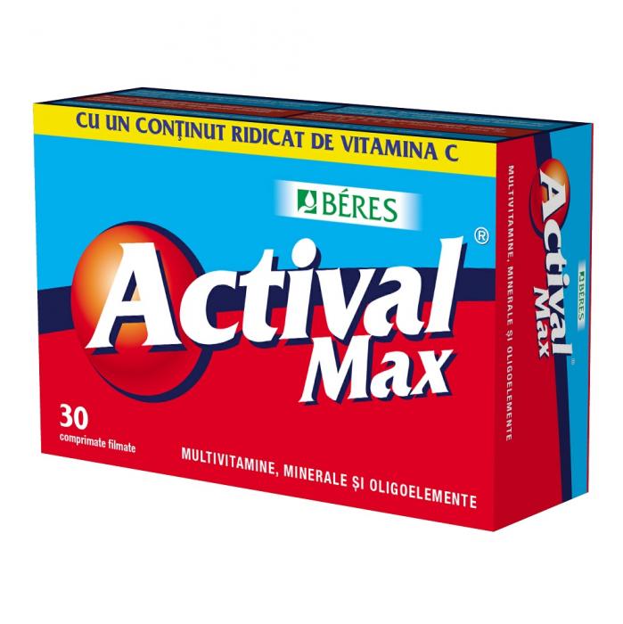 Actival Max, 30 comprimate, Beres Pharmaceuticals Co [0]