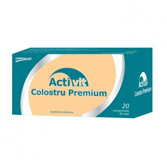 Activit Colostru Premium, 20 comprimate, Aesculap [0]