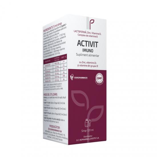 Activit Imuno sirop, 120 ml, Aesculap [0]