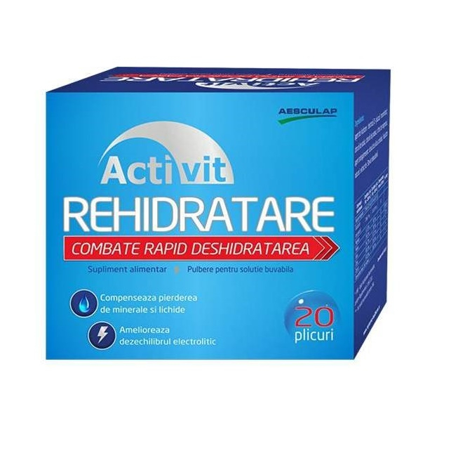 Activit Rehidratare, 20 plicuri, Aesculap [0]