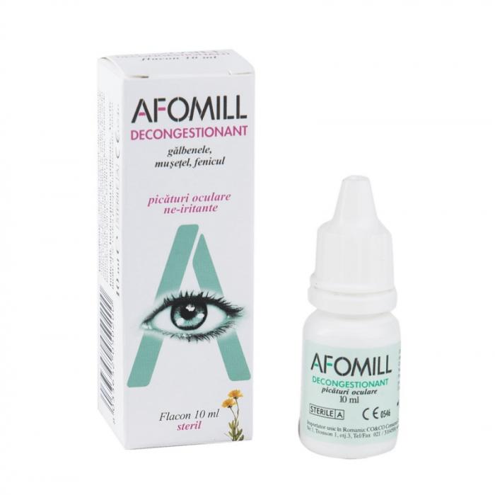 Picături oculare decongestionante Afomill, 10 ml, Af United [0]
