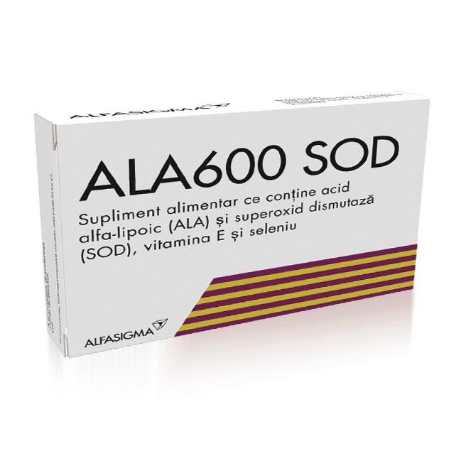 Ala600 SOD, 20 comprimate, Alfasigma [0]