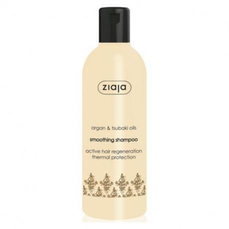 Ziaja Șampon pentru netezire și volum cu ulei de argan, 300 ml [0]
