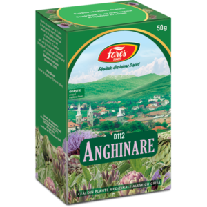 Anghinare, frunze, D112, ceai la punga x 50 g [0]