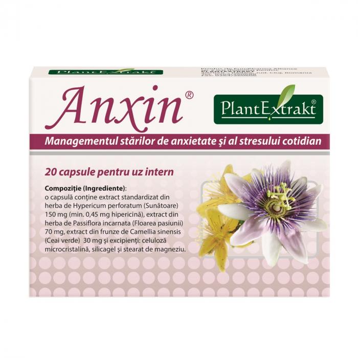 Anxin, 20 capsule, Plant Extrakt [0]