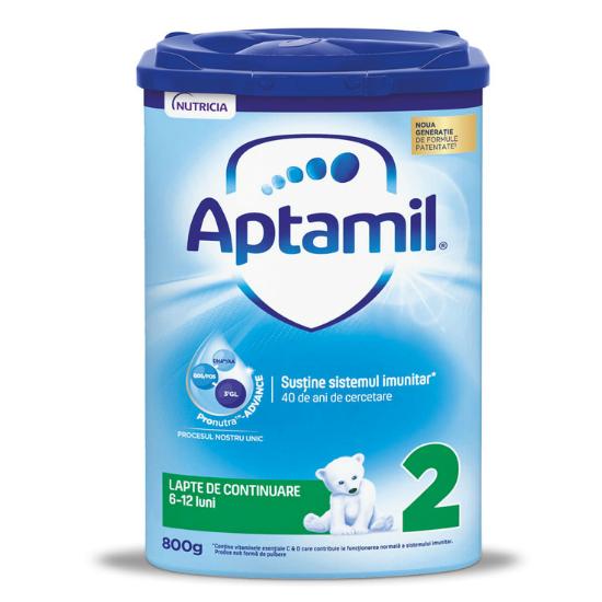 Formula de lapte de continuare cu Pronutra Advance, 6 -12 luni, 800 g, Aptamil [0]