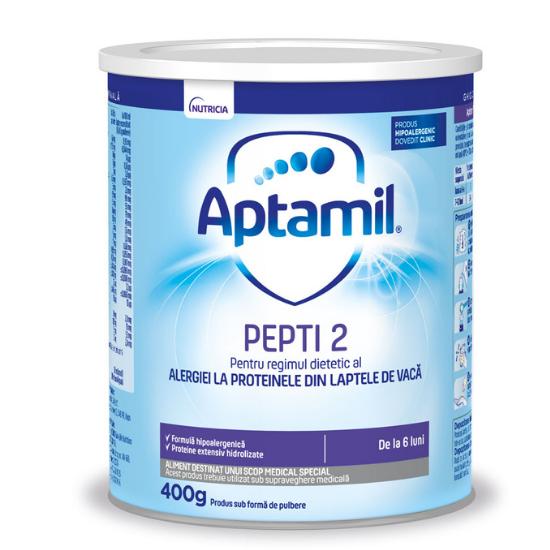 Formula de lapte Pepti 2, 6 - 12 luni, 400g, Aptamil [0]