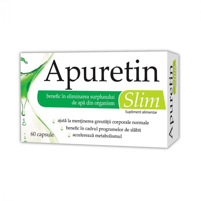 Apuretin Slim, 60 capsule [0]