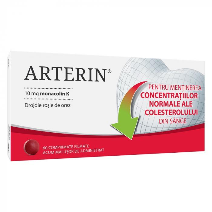Arterin, 60 comprimate, Omega Pharma [0]