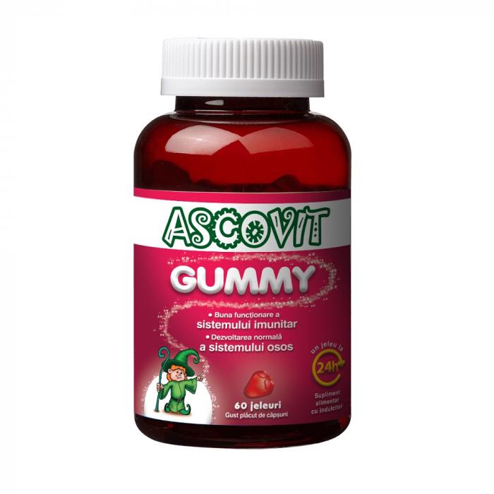 Ascovit Gummy, 60 jeleuri [0]