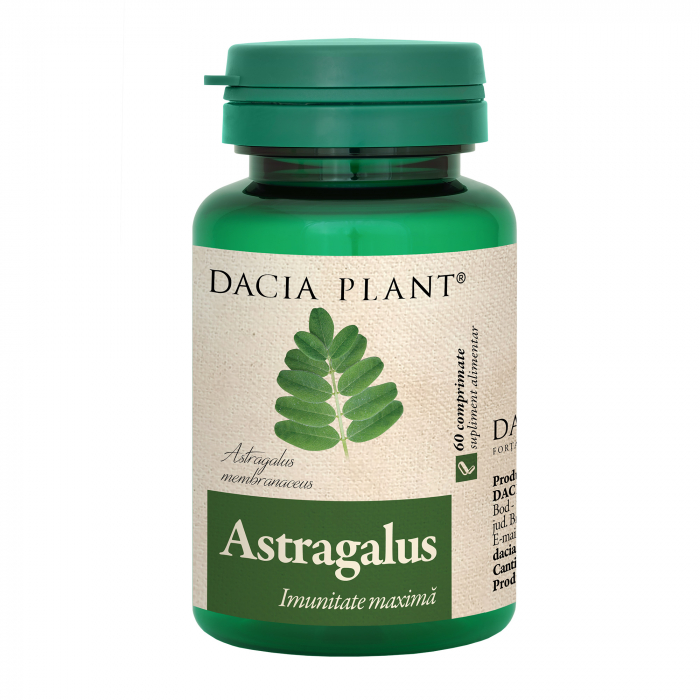 Astragalus, 60 comprimate, Dacia Plant [0]