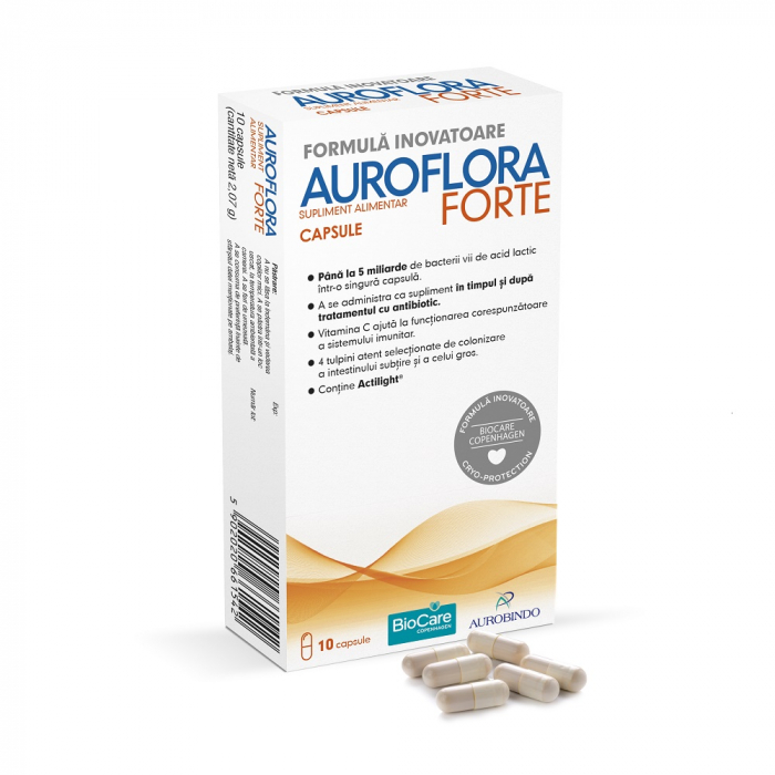 Auroflora Forte, 10 capsule, Aurobindo [0]