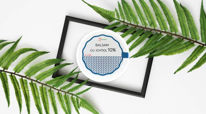 Balsam cu Ichtiol 10% - cutie 30 ml, ∑NATURA [0]