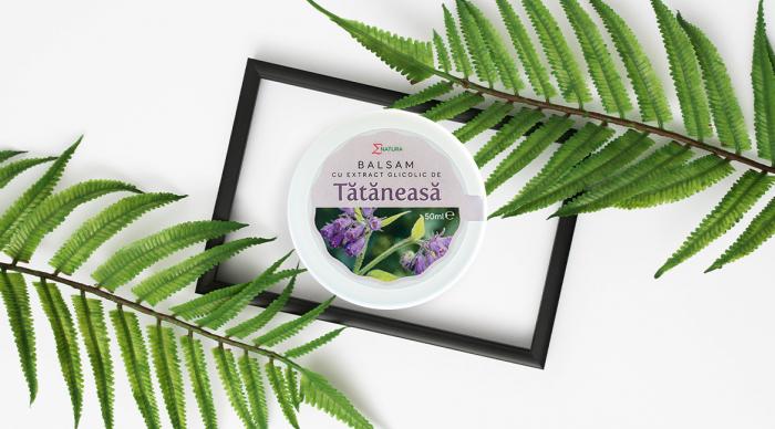 Balsam cu extract glicolic de tătăneasă x 50 ml, ∑NATURA [0]