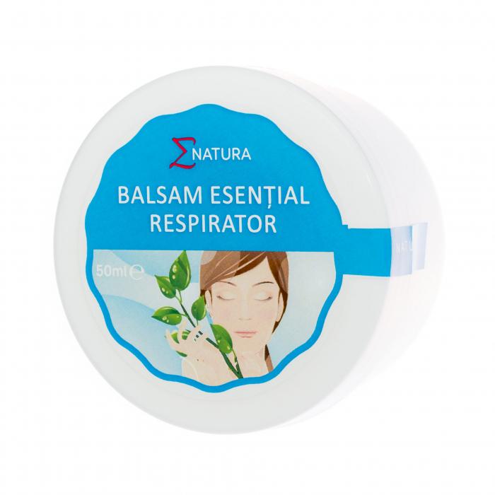 Balsam esenţial respirator - adulţi , 50 ml, ∑NATURA [0]