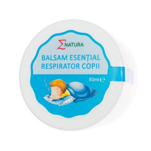Balsam esențial respirator - copii 50 ml, ∑NATURA [0]
