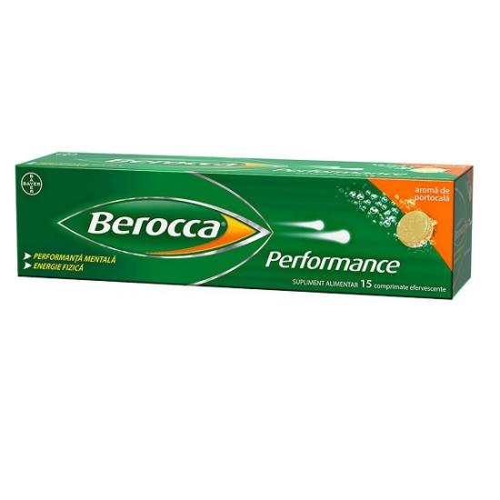 Berocca Performance, 15 comprimate efervescente, Bayer [0]