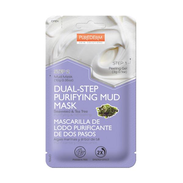 Purederm Masca Peel Off cu alge si arbore de ceai, gel x 3g + masca x 10g [0]