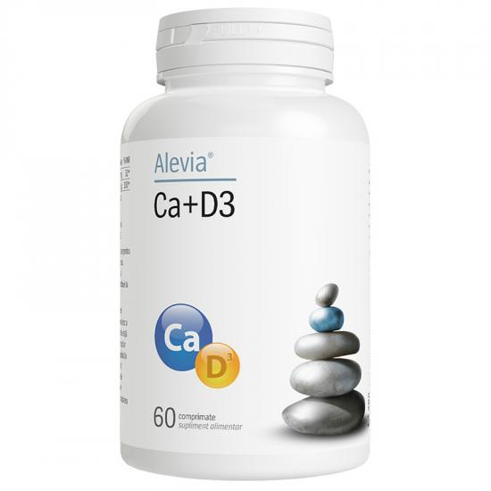 Ca+D3, 60 comprimate, Alevia [0]