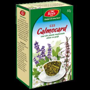 Calmocard (calmant cardiac), C22, ceai la punga 50 g, Fares [0]