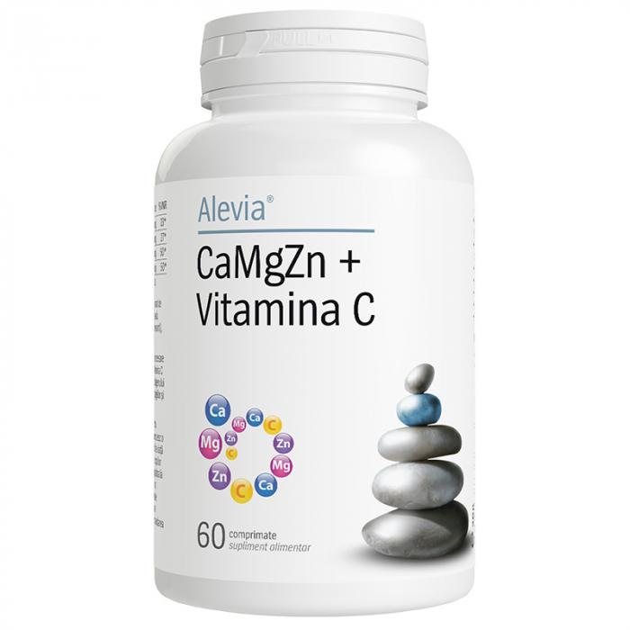 CaMgZn + Vitamina C x 60 comprimate [0]