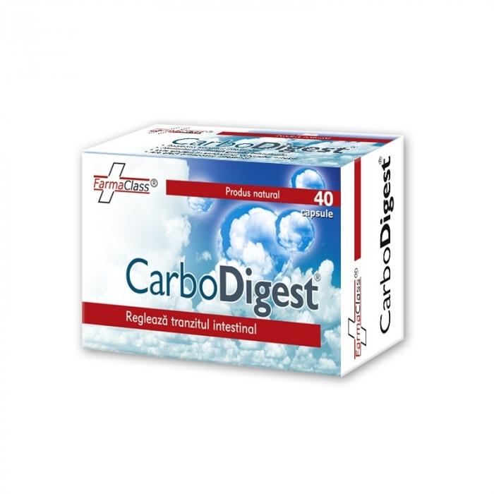 Carbodigest, 40 capsule, FarmaClass [0]