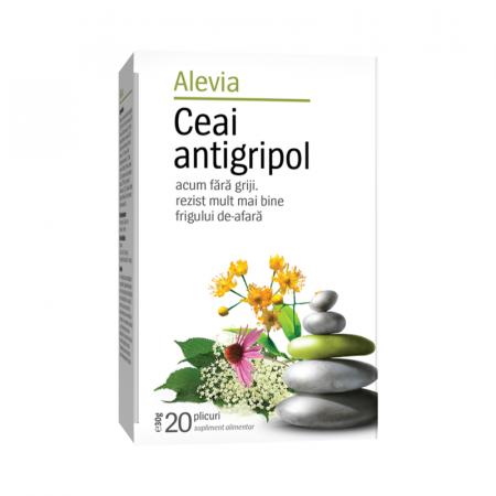 Ceai Antigripol x 20 plicuri, Alevia [0]