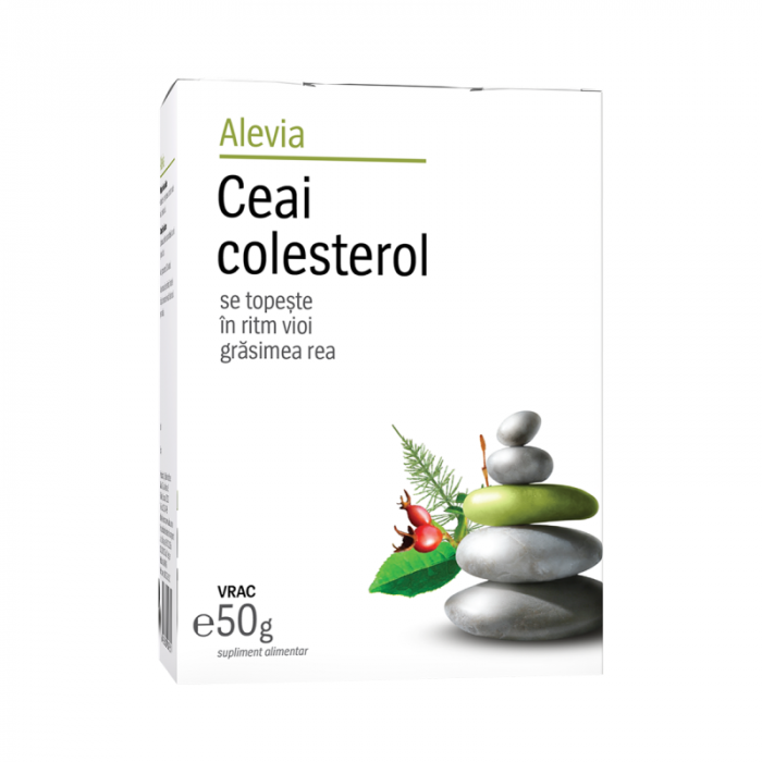 Ceai colesterol x 50 g, Alevia [0]