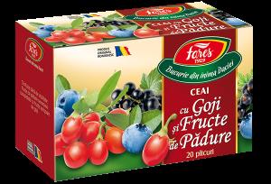 Ceai Aromfruct cu goji si fructe de padure, x 20doze, Fares [0]
