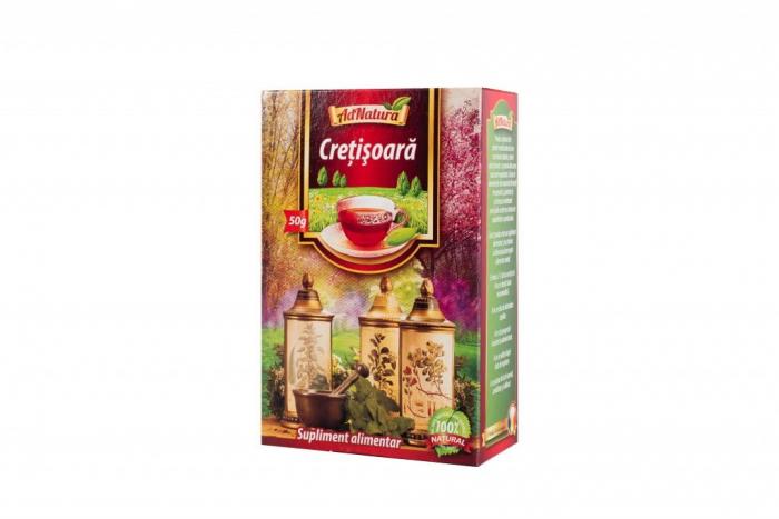 Ceai de crețisoară, 50 g, AdNatura [0]