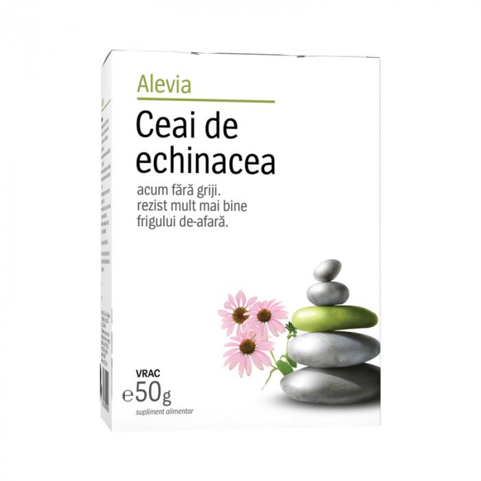 Ceai de echinacea , 50 g, Alevia [0]