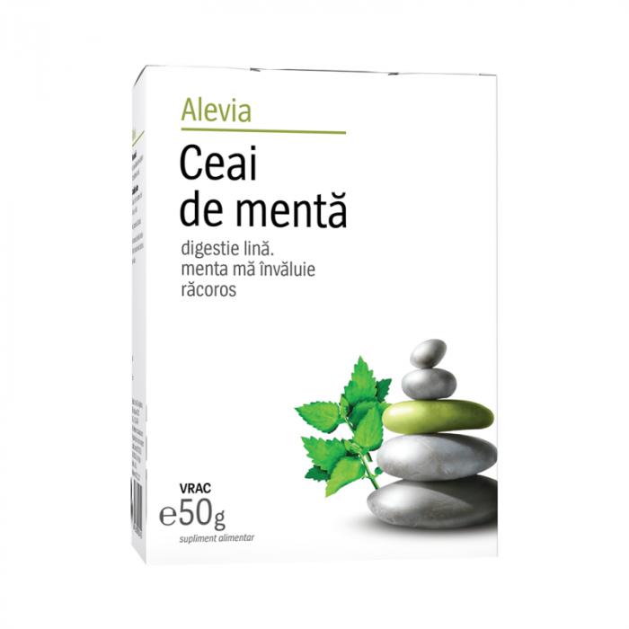 Ceai de menta, 50 g, Alevia [0]