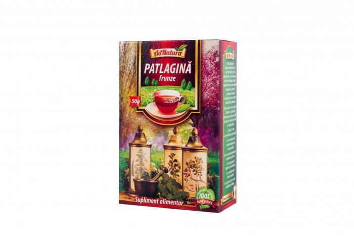 Ceai de pătlagină, 50 g [0]