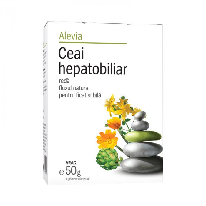 Ceai Hepatobiliar x 50 g, Alevia [0]
