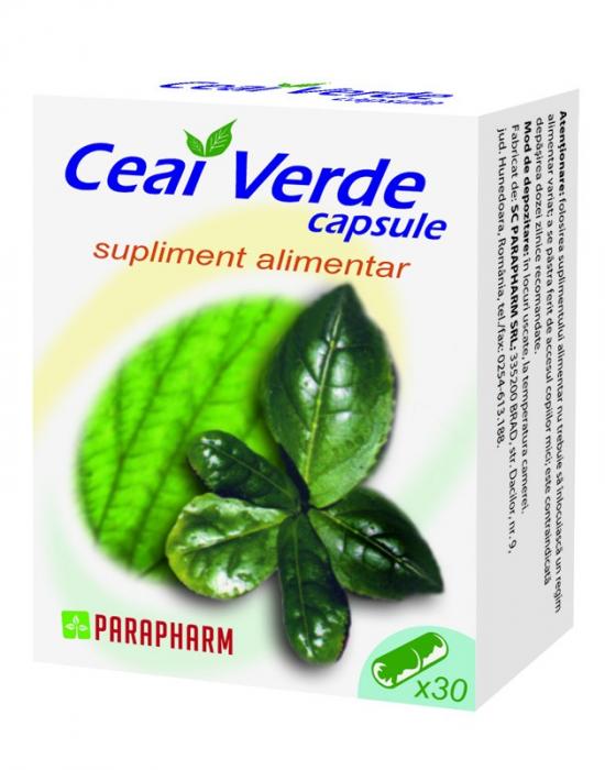 Ceai Verde, 30 capsule [0]