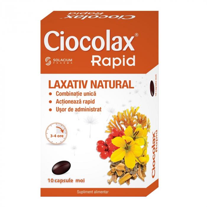 Ciocolax Rapid, 10 capsule, Solacium Pharma [0]