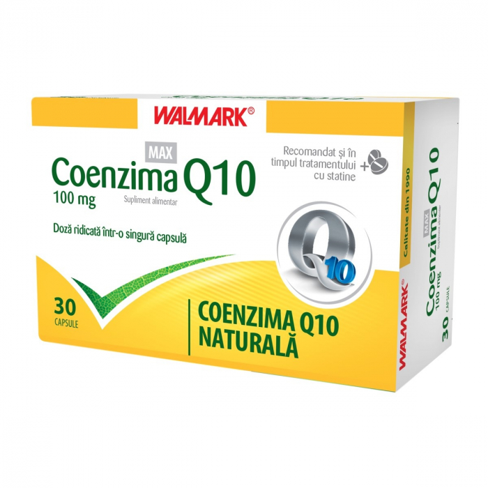 Coenzima Q10 MAX 100 mg, 30 capsule [0]
