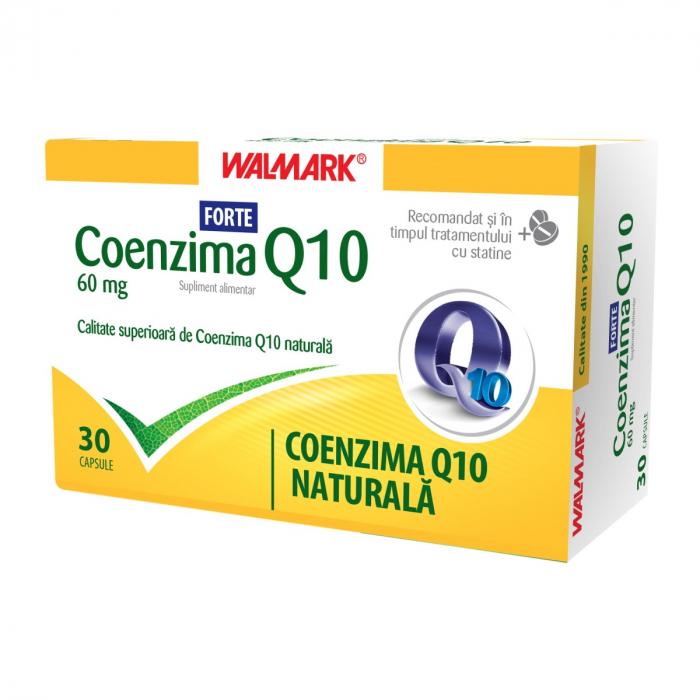 Coenzima Q10 FORTE 60mg, 30 capsule [0]