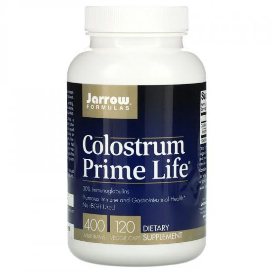Colostrum Prime Life 400mg Jarrow Formulas, 120 capsule, Secom [0]