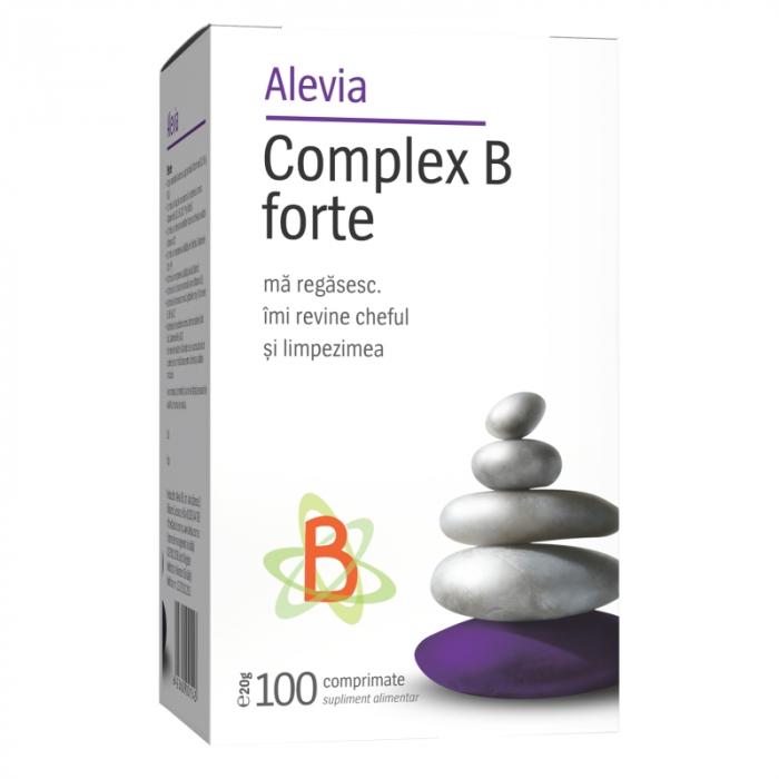 Complex B forte x 100 comprimate, Alevia [0]