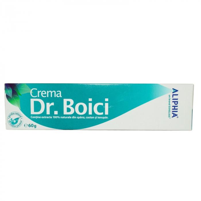 Crema pentru dureri Dr. Boici Aliphia, 60 g, Exhelios [0]