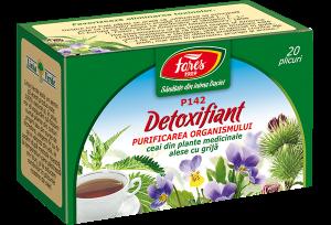Ceai Detoxifiant, 20 plicuri, Fares [0]