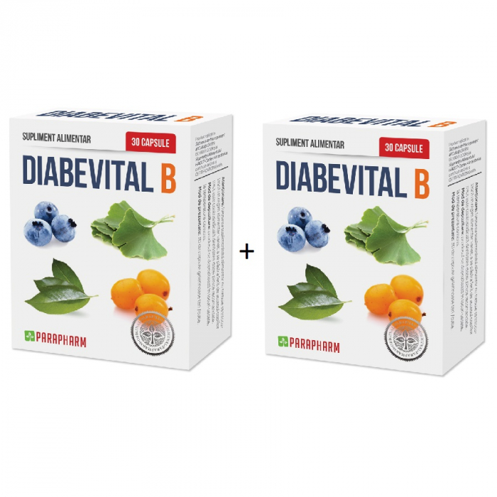 Diabevital B, 30 + 30 capsule [0]