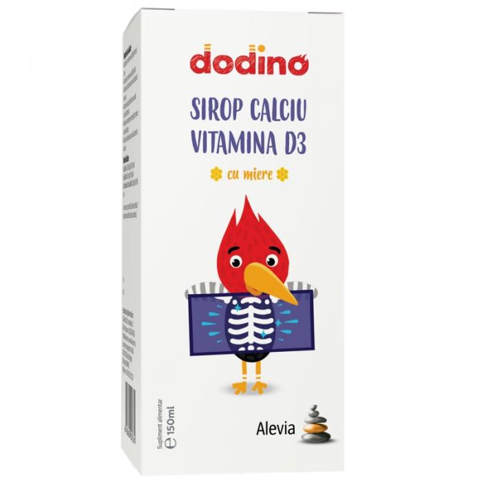 Dodino Sirop Calciu și Vitamina D3 x 150 ml [0]