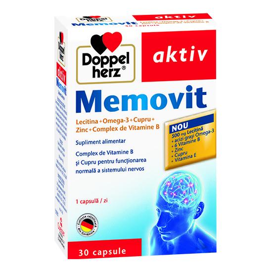 Doppelherz aktiv Memovit, 30 capsule [0]