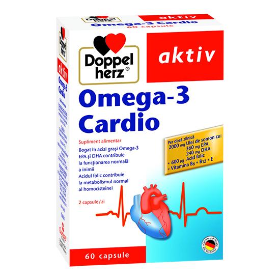 Doppelherz aktiv Omega-3 Cardio, 60 capsule [0]