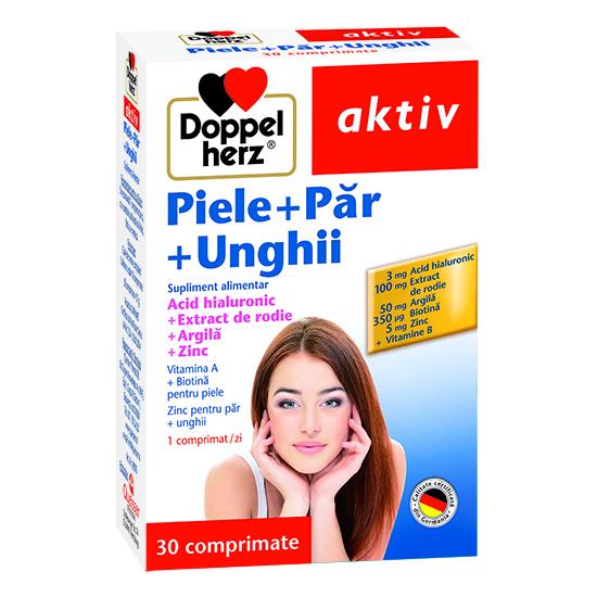 Doppelherz aktiv Piele + Păr + Unghii, 30 comprimate [0]