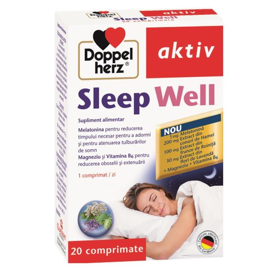 Doppelherz aktiv Sleep Well, 20 comprimate [0]