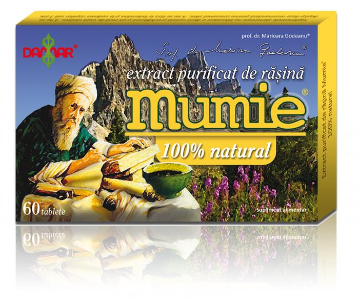 Extract purificat de rasina Mumie x 60 tablete [0]